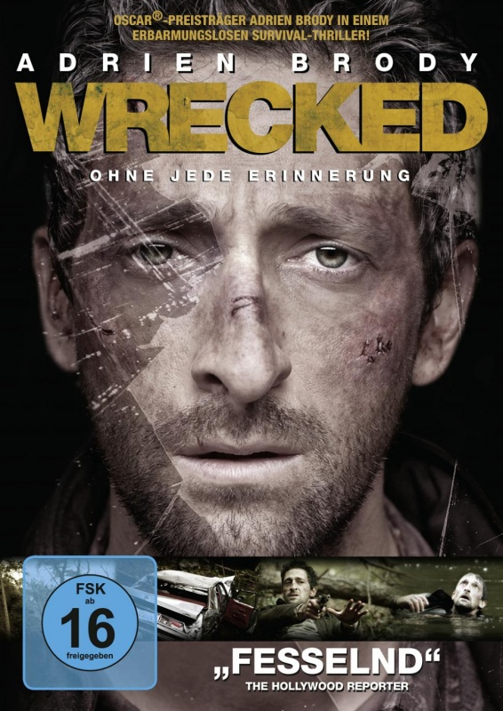 Wrecked – DVD (Kanad... Adrien Brody Wrecked