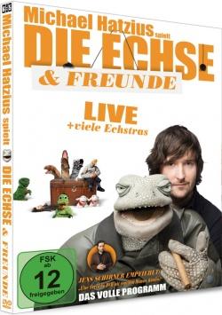 Michael Hatzius spielt: Die Echse & Freunde – Das volle Programm – DVD