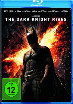 The Dark Knight Rises – Blu-Ray