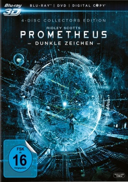 Prometheus – Dunkle Zeichen Collector`s Edition – Blu-Ray