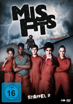 Misfits – Staffel 2 – DVD