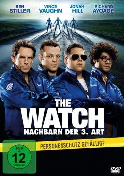 The Watch – Nachbarn der 3. Art – DVD