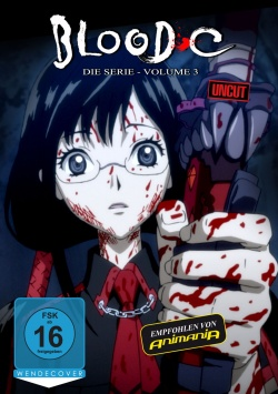 Blood-C – Volume 3 - DVD