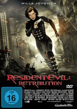 Resident Evil: Retribution – DVD