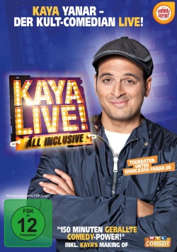 Kaya Yanar Live – All Incusive – DVD