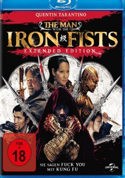 The Man with the Iron Fists – Extendet Version – Blu-Ray