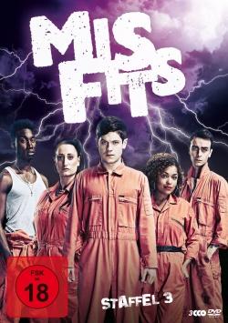 Misfits – Staffel 3 - DVD