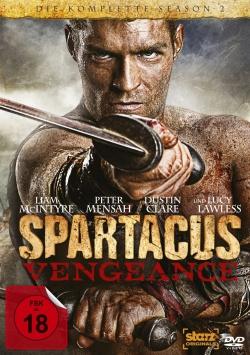 Spartacus: Vengeance Staffel 2 – DVD