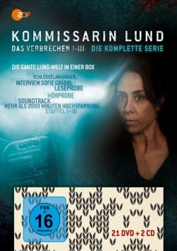 Kommissarin Lund – Komplettbox (DVD)