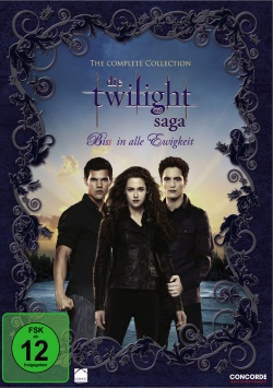 Die Twilight Saga – Bis(s) in alle Ewigkeit Complete Collection - DVD