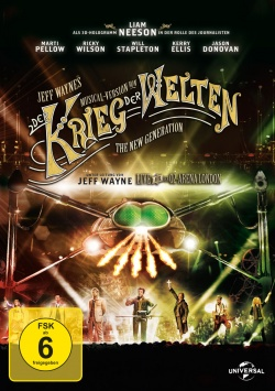 Jeff Waynes Musical Version von: Der Krieg der Welten - The New Generation - DVD