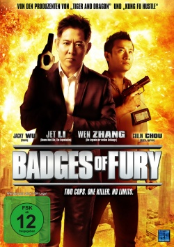 Badges of Fury – Blu-ray