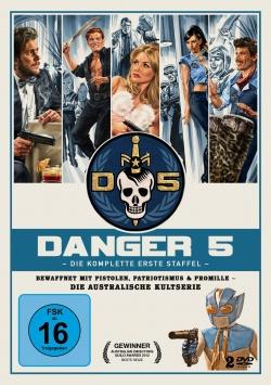 Danger 5 – Die komplette erste Staffel - DVD