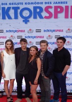 DOKTORSPIELE-Premiere in Frankfurt