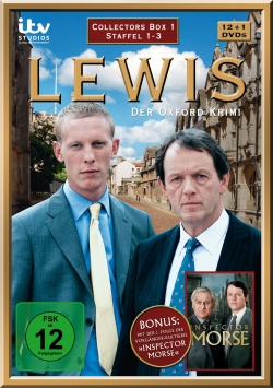 Lewis – Der Oxford Krimi Collector`s Box 1 - DVD