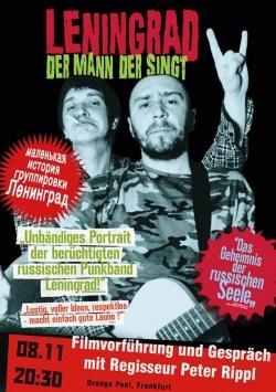 LENINGRAD – Der Mann, der Singt - Filmvorführung und Gespräch mit Regisseur Peter Rippl