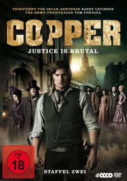 Copper – Justice is brutal Staffel 2 - DVD