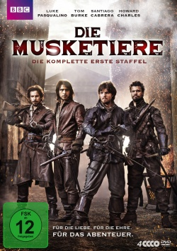 The Musketeers – Staffel 1 – DVD