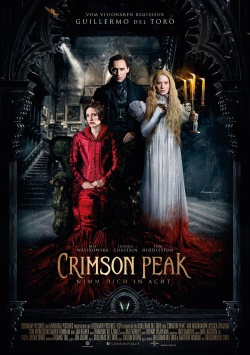 CRIMSON PEAK – Trailer und düstere Charakterposter