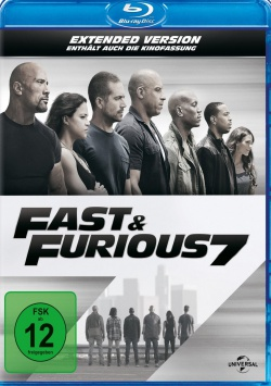 Fast & Furious 7 – Extended Version – Blu-ray