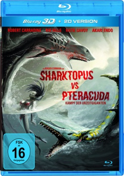 Sharktopus vs Pteracuda – Blu-ray