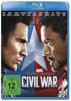 The First Avenger: Civil War – Blu-ray