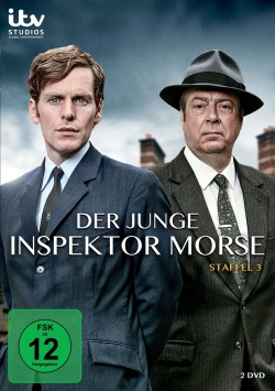 Der junge Inspektor Morse – Staffel 3 – DVD