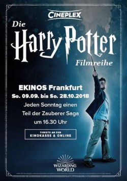 HARRY POTTER returns to the big screen!