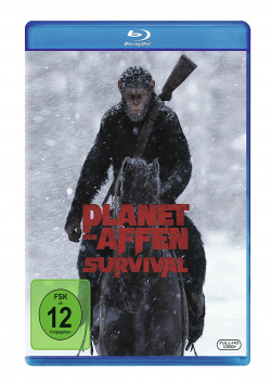 Planet of the Apes: Survival - Blu-ray