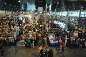 The German ComicCon in Frankfurt - An Experience Report