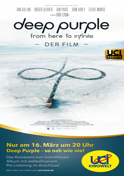 Deep Purple exclusively at the cinema