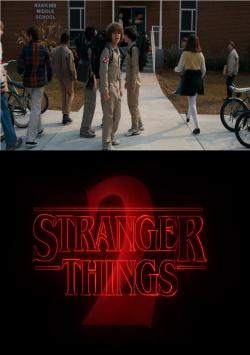 Teaser for the 2nd season of STRANGER THINGS released