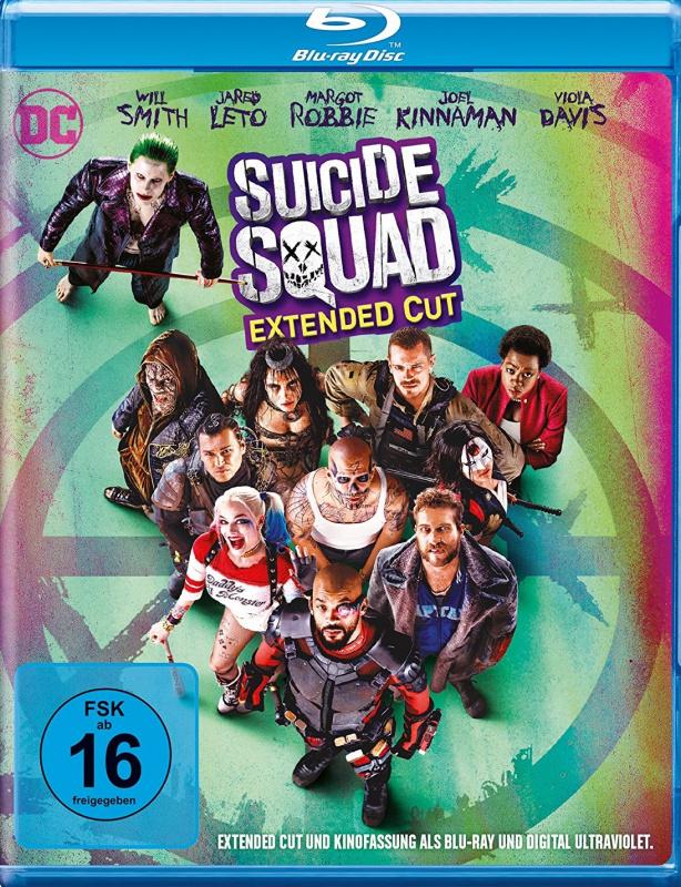 Suicide Squad Extended Cut German
