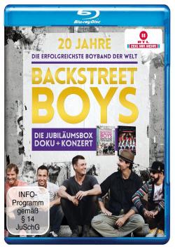 20 Years Backstreet Boys - Blu-ray