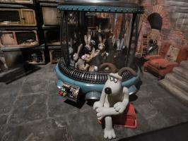 Wallace and Gromit guest in Frankfurt:THE ART OF AARDMAN