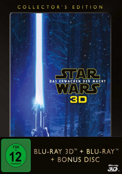 Star Wars: Episode VII - The Awakening of Might - Collector`s Edition - Blu-ray