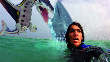 Sharktopus vs. Pteracuda - Blu-ray