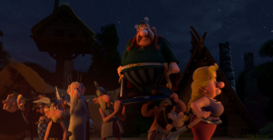 Asterix in the Land of the Gods