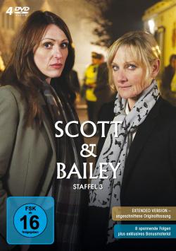 Scott & Bailey Season 3 - DVD