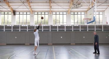 Nowitzki - The perfect throw