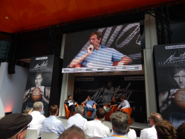 The perfect throw - Dirk Nowitzki presents his new documentary in Frankfurt