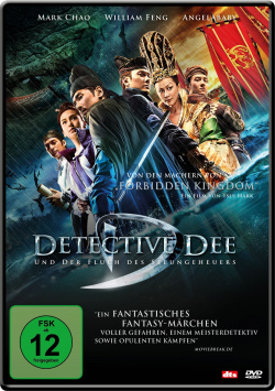 Detective Dee and the Curse of the Sea Monster - DVD