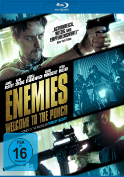 Enemies - Welcome to the Punch - Blu-Ray