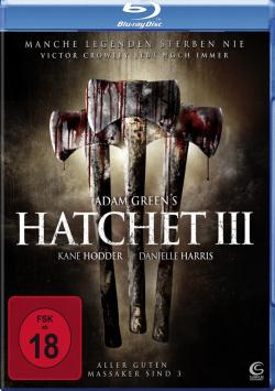 Hatchet III - Blu-Ray