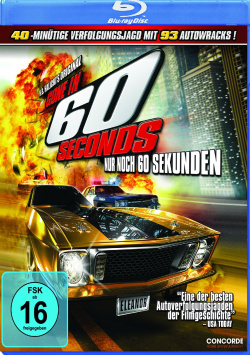 Gone in 60 Seconds - Only 60 seconds left - Blu-Ray