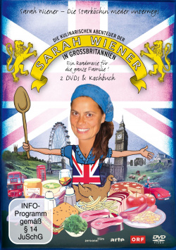 The Culinary Adventures of Sarah Wiener: Great Britain - DVD