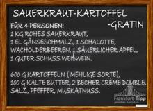 Sauerkraut-Kartoffel-Gratin