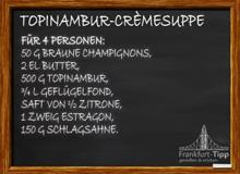 Topinambur-Crèmesuppe