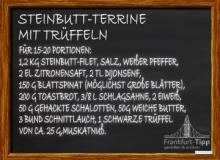 Turbot terrine with truffles