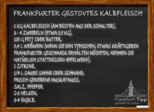 Frankfurt stoved veal